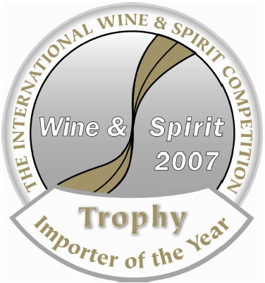 IWSC UK Wine Importer of the Year 2007 Tropy - Logo