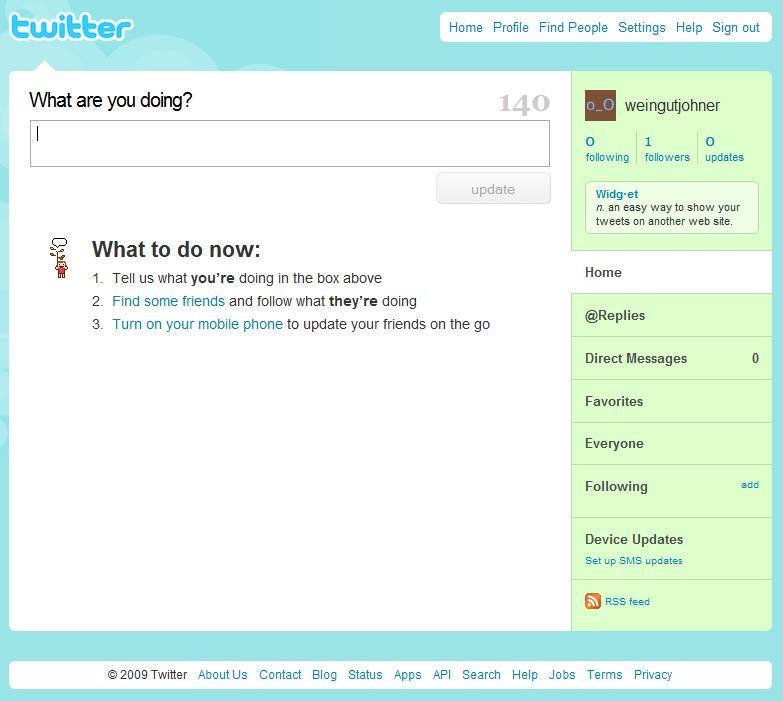twitter-erste-leere-seite
